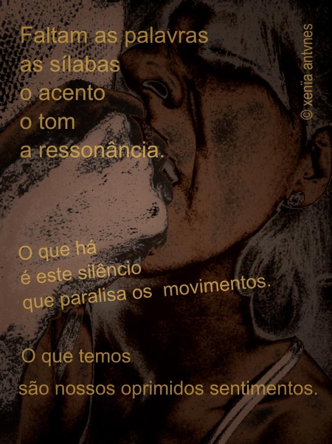 Poesia Visual: Faltam as palavras, as sílabas...