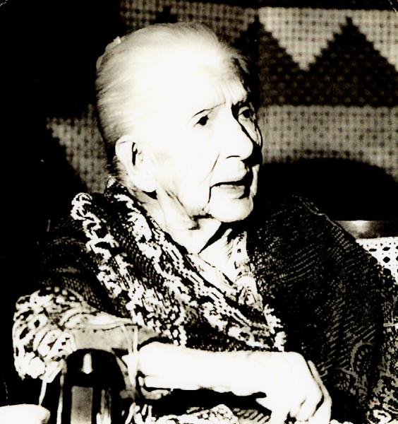 Cora Coralina. Foto Joaquim Firmino.