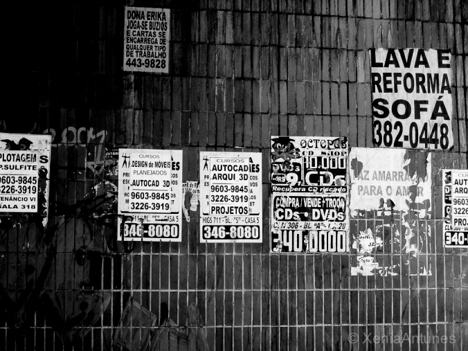 Foto: muro na rua/photo street wall